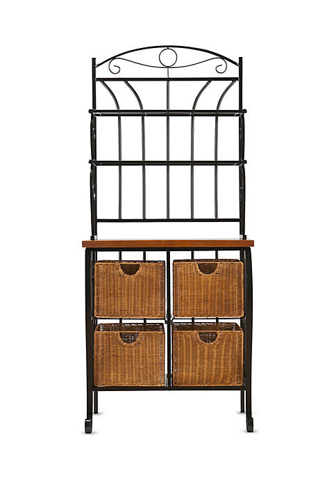 Southern Enterprises Cooley Bakers Rack