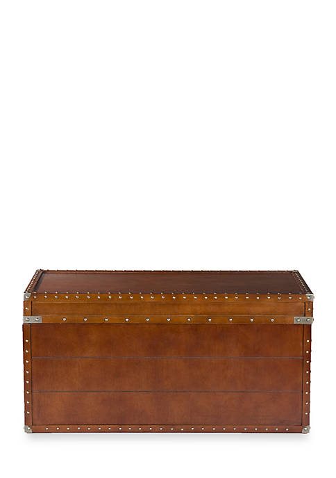 Southern Enterprises Chippingham Trunk Table