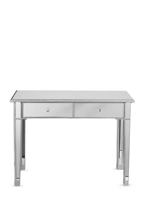 Padonia Mirrored 2-Drawer Console Table