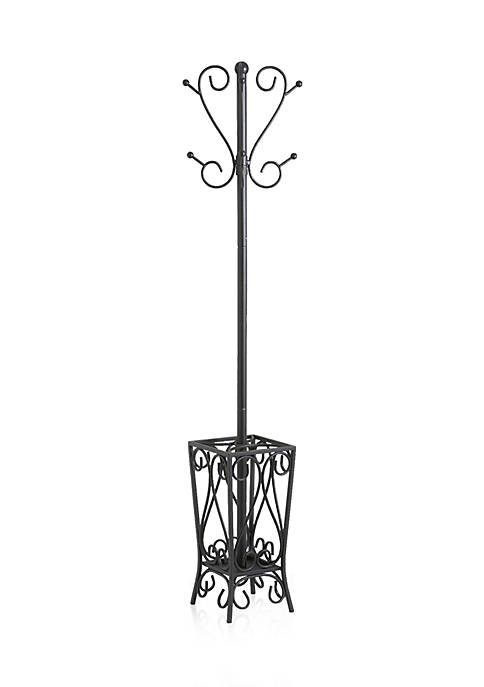 Southern Enterprises Sundal Coat Rack And Umbrella Stand