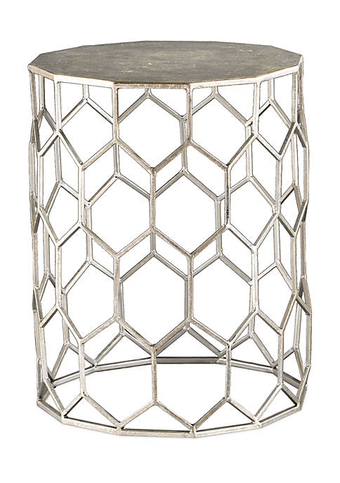 Southern Enterprises Clarissa Metal Accent Table