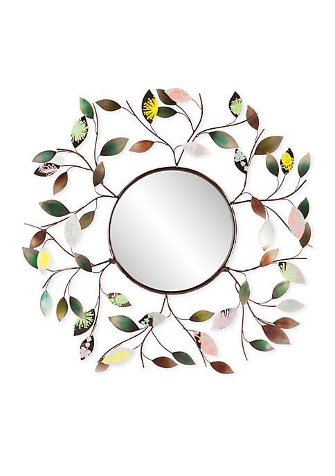 Southern Enterprises Camara Leaf Wall Mirror