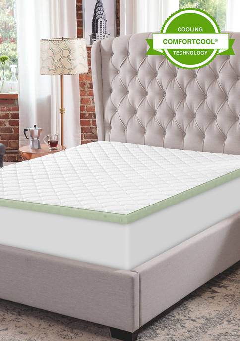 3-Inch Ultimate Cooling Luxury Quilted Memory Foam Bed Topper