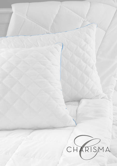 Charisma Gel-2 Hybrid Jumbo Bed Pillow with Gel-Infused