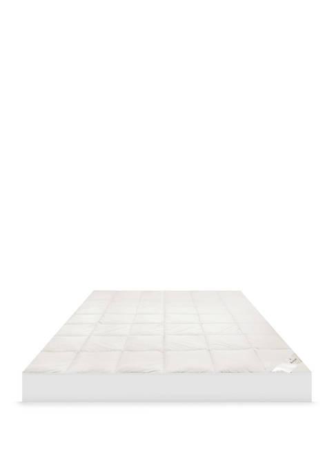 MaryJane's Home 300-Thread Count Organic Cotton Mattress Pad