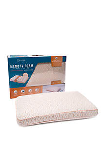 Memory Foam Classic Gusset Copper Infused Bed Pillow