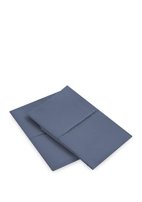 Microfiber Cobalt Blue Pillowcase Set