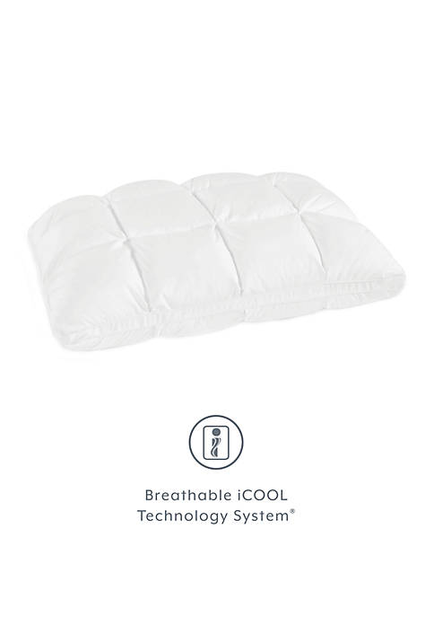 Euro Majestic Synthetic Down and Memory Foam Bed Pillow
