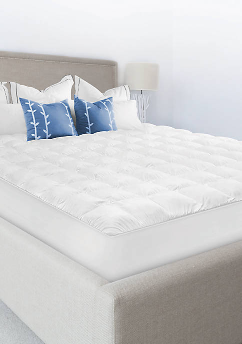 Luxury Top Loft Gel Fiber Mattress Pad
