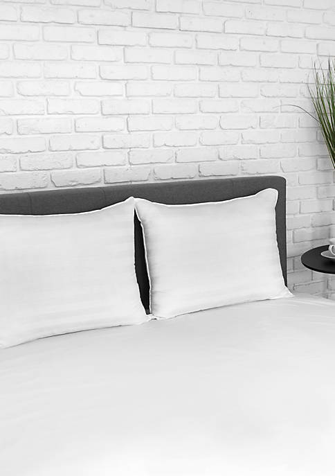 2 Pack Eco Classic 250 Thread Count Bed Pillow