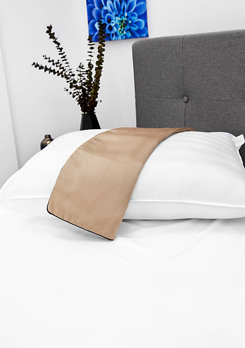 NightSpa Cupron Pillowcase and Pillow Bundle