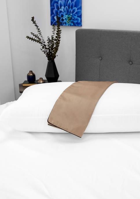 NightSpa Cupron Pillowcase and Pillow Bundle - King