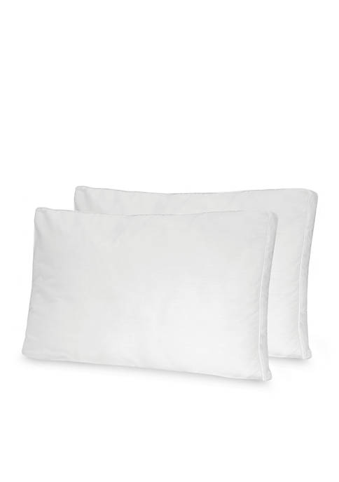 Low Profile Fiber Pillow 2 Pack