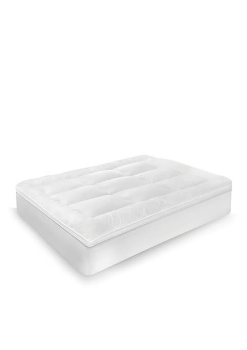 SensorPEDIC® Classic Memory Foam and Fiber 2.5-in. Bed