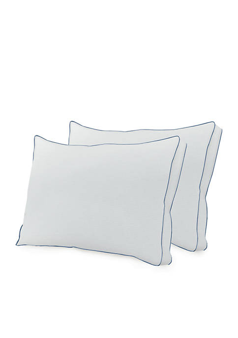 SensorPEDIC Deluxe Gusseted Pillow with Nanotex 2 Pack