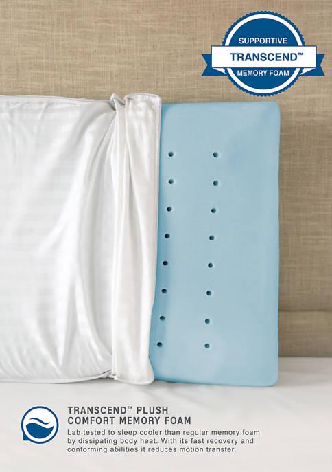 Ultra Comfort Transcend Memory Foam Jumbo Bed Pillow