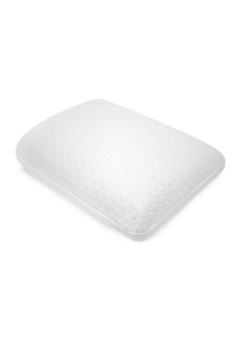 Gel Overlay Memory Foam Comfort Bed Pillow
