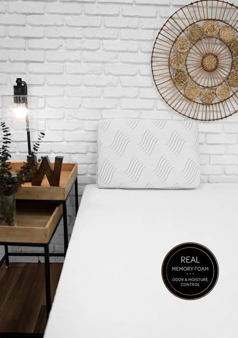 SensorPEDIC® Charcoal Memory Foam Pillow with Built-In iCOOL