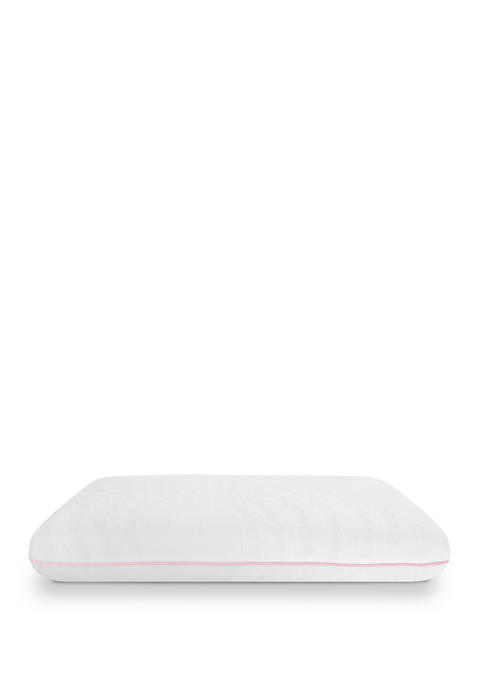 Wellness Collection Memory Foam Bed Pillow with Rose Vanilla Infused Cover