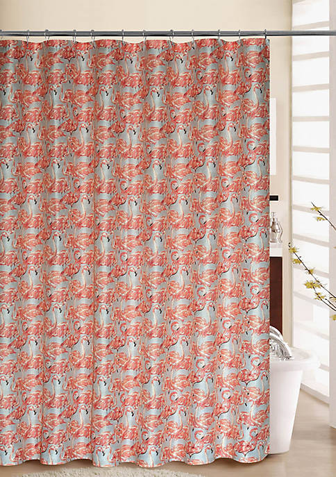 Waverly Beach Social Shower Curtain with Rings