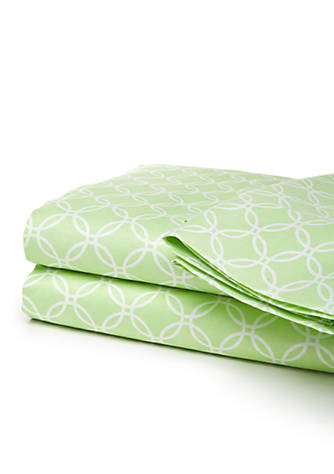 New Directions 174 300 Thread Count Printed Twin Sheet Set Belk