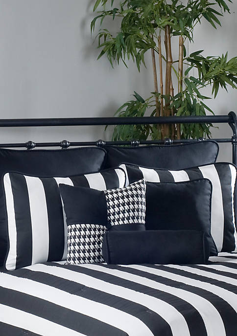 City Stripe Comforter Set