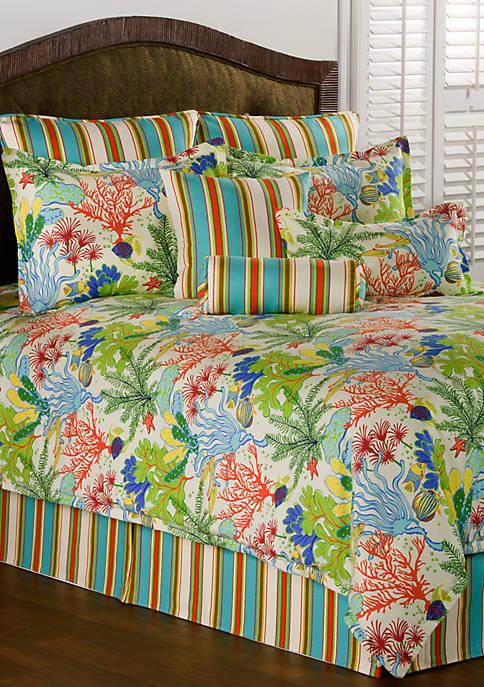 Victor Mill Island Breeze Twin Comforter Set 72-in.