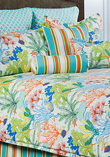Victor Mill Island Breeze Decorative Pillow 18-in. x 18-in.