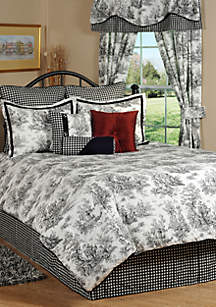 Victor Mill Jamestown California King Comforter Set 96-in. x 110-in.