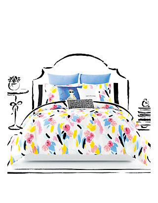 Kate Spade New York Paintball Floral Twin Xl Comforter Set Belk