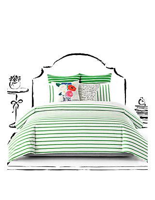 Kate Spade New York Harbor Stripe Twin Twin Xl Comforter Set 68 In
