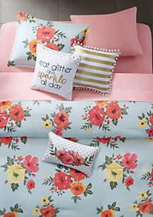 Samantha Twin/Twin XL Comforter Mini Set