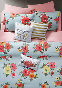 Samantha Full/Queen Comforter Mini Set
