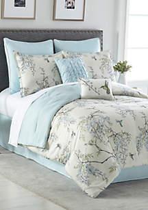 Adira 8-Piece Comforter Bed-In-A-Bag
