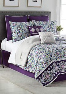 Violet Bed In A Bag Set