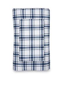 Plaid Cotton Flannel Printed Sheet Set