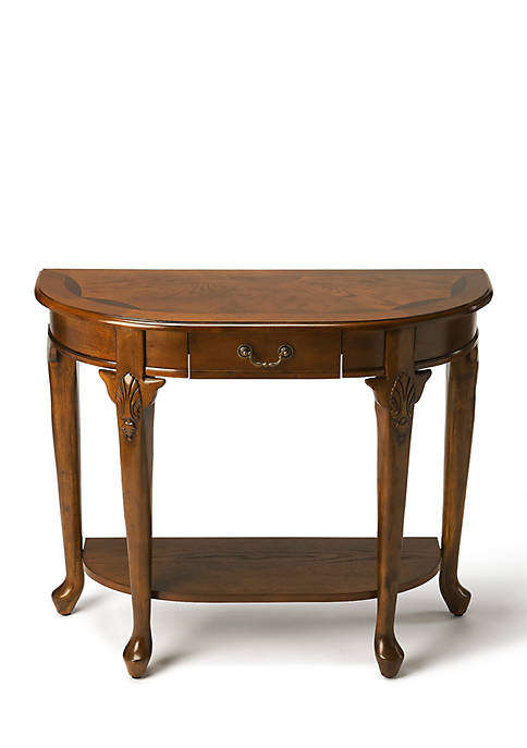 Kimball Vintage Oak Console Table