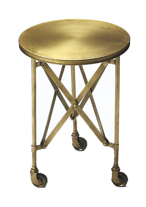 Butler Specialty Company Costigan Antique Gold Accent Table
