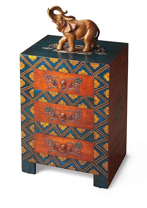 Hand Painted Accent Chest