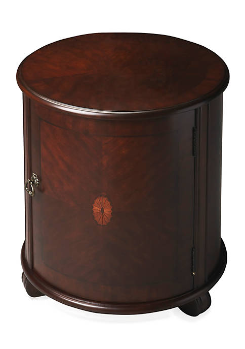 Butler Specialty Company Lawrie Plantation Cherry Drum Table