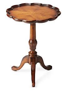 Butler Specialty Company Dansby Vintage Oak Pedestal Table
