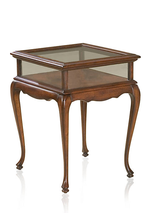 Butler Specialty Company Burton Plantation Cherry Curio Table