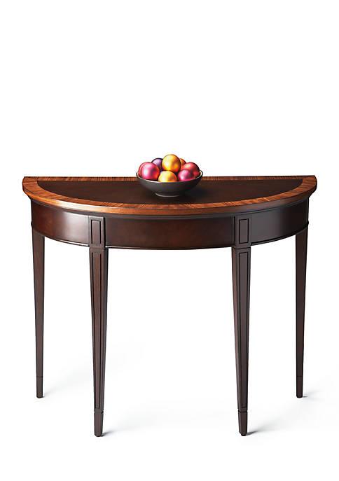 Hampton Nouveau Demilune Console Table