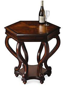 Margaret Plantation Cherry Accent Table