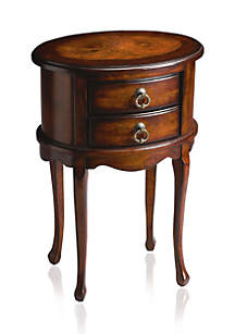 Butler Specialty Company Whitley Plantation Cherry Oval Side Table
