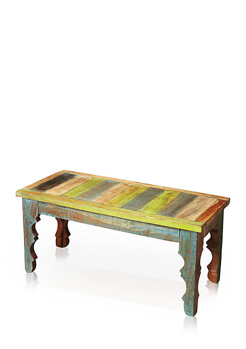 Butler Specialty Company Rao Hand Painted Wood Bench