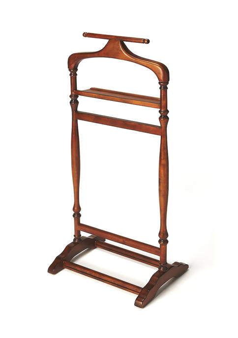 Butler Specialty Company Judson Ash Burl Valet Stand