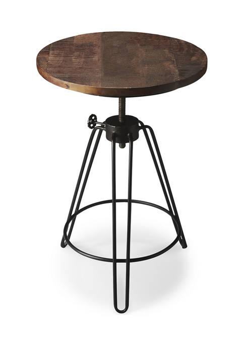Trenton Metal & Wood Accent Table