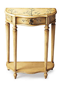 Ashby Winter Forest Painted Console Table