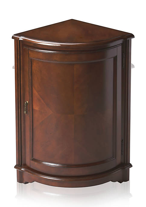 Butler Specialty Company Durham Plantation Cherry Corner Cabinet